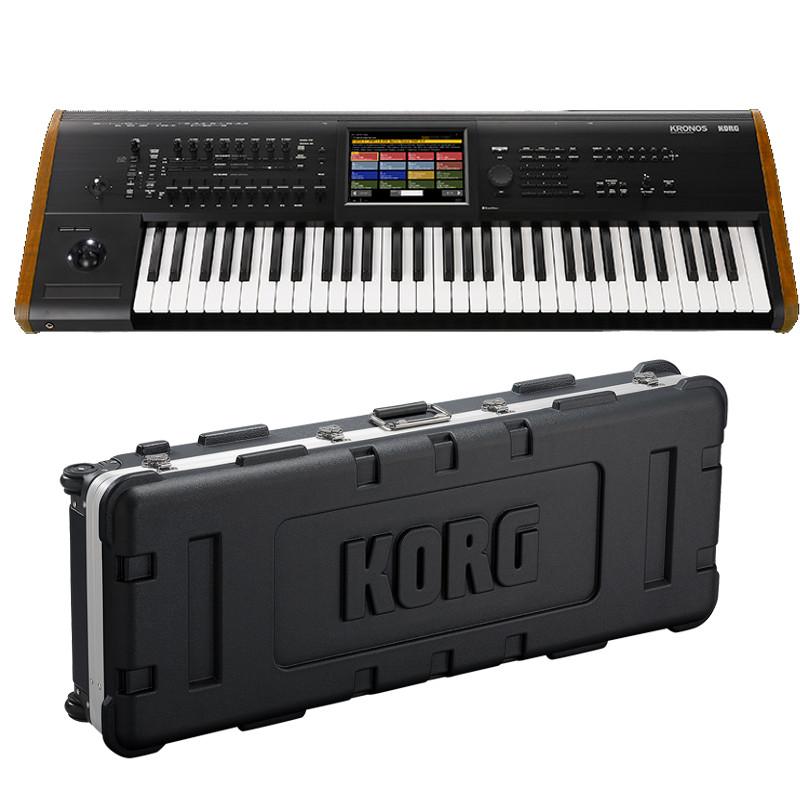 KORG シンセサイザー/ KRONOS2 61 純正ハードケースセット《お取り寄せ商品》【名古屋栄店】(KRONOS2-61)
