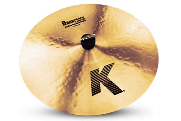 K ZILDJIAN / (ジルジャン) K 16 Dark Crash Medium Thin 【トラディショナル仕上げ】【名古屋栄店】