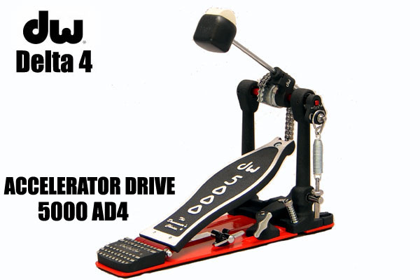 DW/ Delta 4 Series Single Pedal 5000AD4 Accelerator Drive 【名古屋栄店】