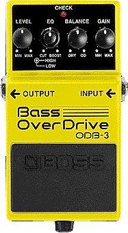 【新品】BOSS (ボス) / ODB-3 Bass OverDrive 【ベースオーバードライブ】【エフェクター】【名古屋栄店】