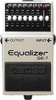 【新品】BOSS (ボス) / GE-7 Equalizer 【イコライザー】【エフェクター】【名古屋栄店】