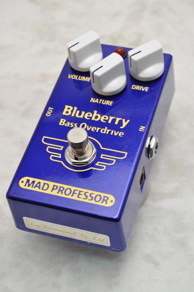 MAD PROFESSOR マッドプロフェッサー / Blueberry Bass Overdrive ベース用オーバードライブ 【福岡パルコ店】