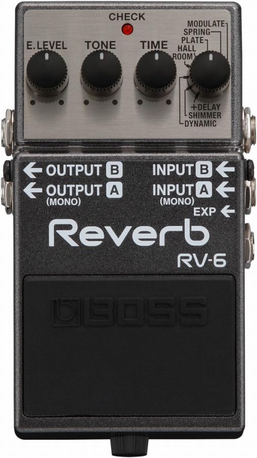 BOSS ボス / RV-6 Reverb リバーブ 【福岡パルコ店】