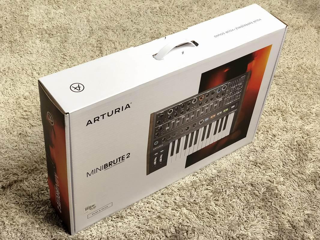 Arturia アートリア / MiniBrute 2 アナログシンセサイザー【再生品特価】【渋谷店】