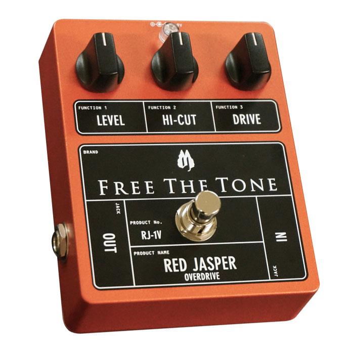 FREE THE TONE(フリー・ザ・トーン) Red Jasper RJ-1V 【2013.12.20発売/予約受付中】オーバードライブ OD OVER DRIVE【渋谷店】