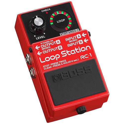 """BOSS """"ルーパー""""はじめるならBOSS もう迷わせない。 RC-1 Loop Station ボス 【送料込】 【ポイント2倍】 【ACアダプター+フットスイッチ/FS-7+接続ケーブル付】 【smtb-TK】"""