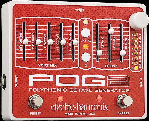 Electro Harmonix / POG2【無敵オクターバーが更に進化して登場!!】【渋谷店】