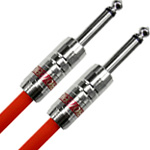 Providence / Light Edition Silver Link Guitar Cable LE501 3.0m SS Red 【ギターケーブル シールド】【プロビデンス(プロヴィデンス)】【ライトエディション】【シルバーリンク】【3m】【S/S S-S】【ストレートプラグ】【レッド】【新宿店】