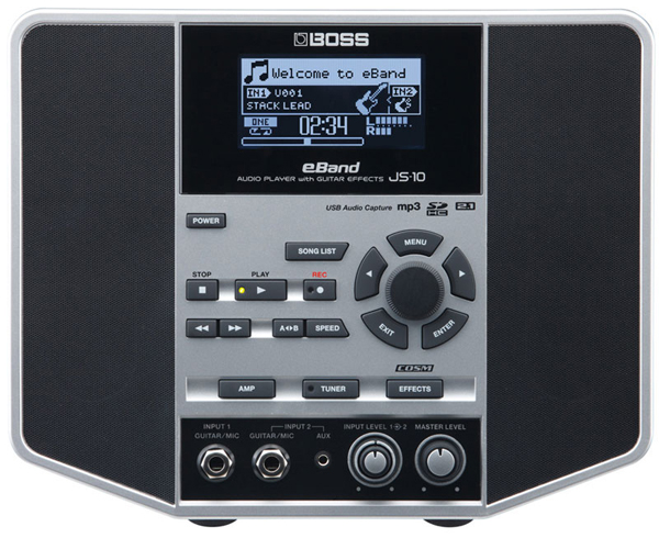 BOSS / eBand JS-10 Audio Player with Guitar Effects 【アンプ(Amplifier)】【ボス】【新宿店】