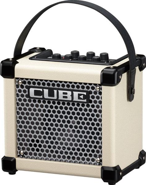 Roland / Micro Cube GX White Guitar Amplifier 【ギターアンプ】【ローランド】【マイクロキューブGX】【ホワイト】【M-CUBE GX】【新宿店】