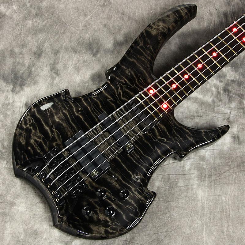 Warwick / Custom Shop Vampyre NT 5-Strings Nirvana Black Transparent High Polish Finish 【ワーウィック】【5弦ベース】【新宿店】