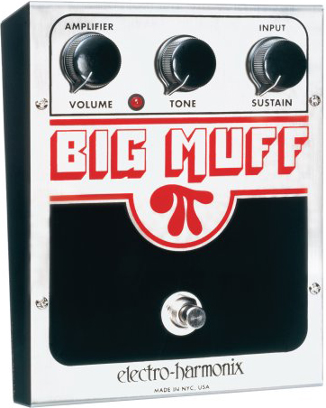 electro-harmonix / Big Muff π (USA) Distortion / Sustainer 【エフェクター】【エレクトロハーモニクス】【ビッグマフパイ/pi】【U.S.A.】【ディストーション】【サスティナー】【新宿店】