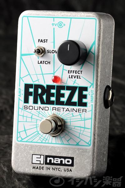 electro-harmonix / Nano Freeze Sound Retainer 【エフェクター】【エレクトロハーモニクス】【ナノフリーズ】【サウンドリテイナー】【新宿店】