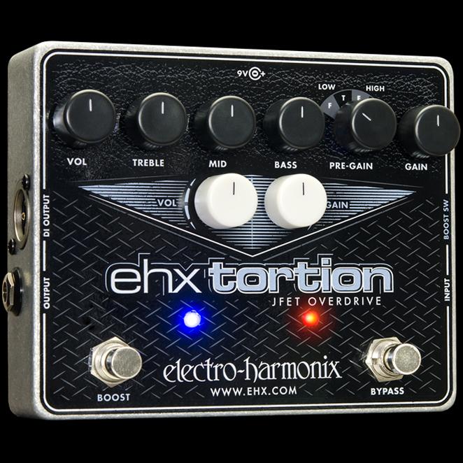 electro-harmonix / EHX TORTION 【エレクトロハーモニクス】【オーバードライブ】【ディストーション】【展示品特価】【新宿店】