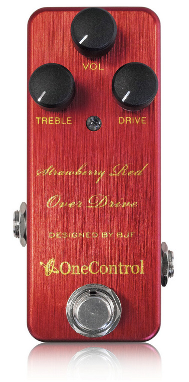 One Control / Strawberry Red Over Drive 【ワンコントロール】【オーバードライブ】【新宿店】
