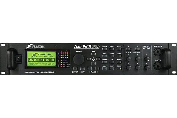 FRACTAL AUDIO SYSTEMS / Axe-Fx II XL+【フラクタルオーディオシステム】【アックスエフエックス】【マルチエフェクター】【新宿店】