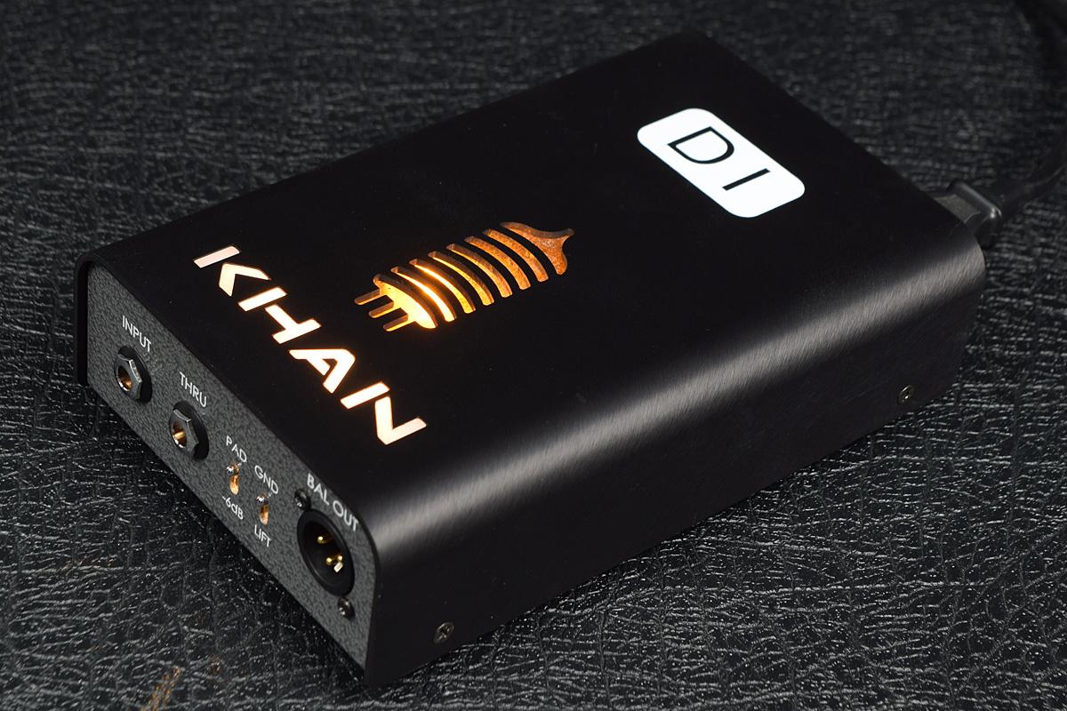 KHAN Audio / VTDI【カーンオーディオ】【ベース用DI】【店頭展示品特価!】【新宿店】