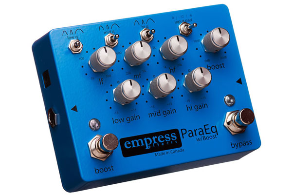 Empress / Para EQ with Boost 【エフェクター】【エンプレス】【パライコライザー(Equalizer)withブースト】【新宿店】