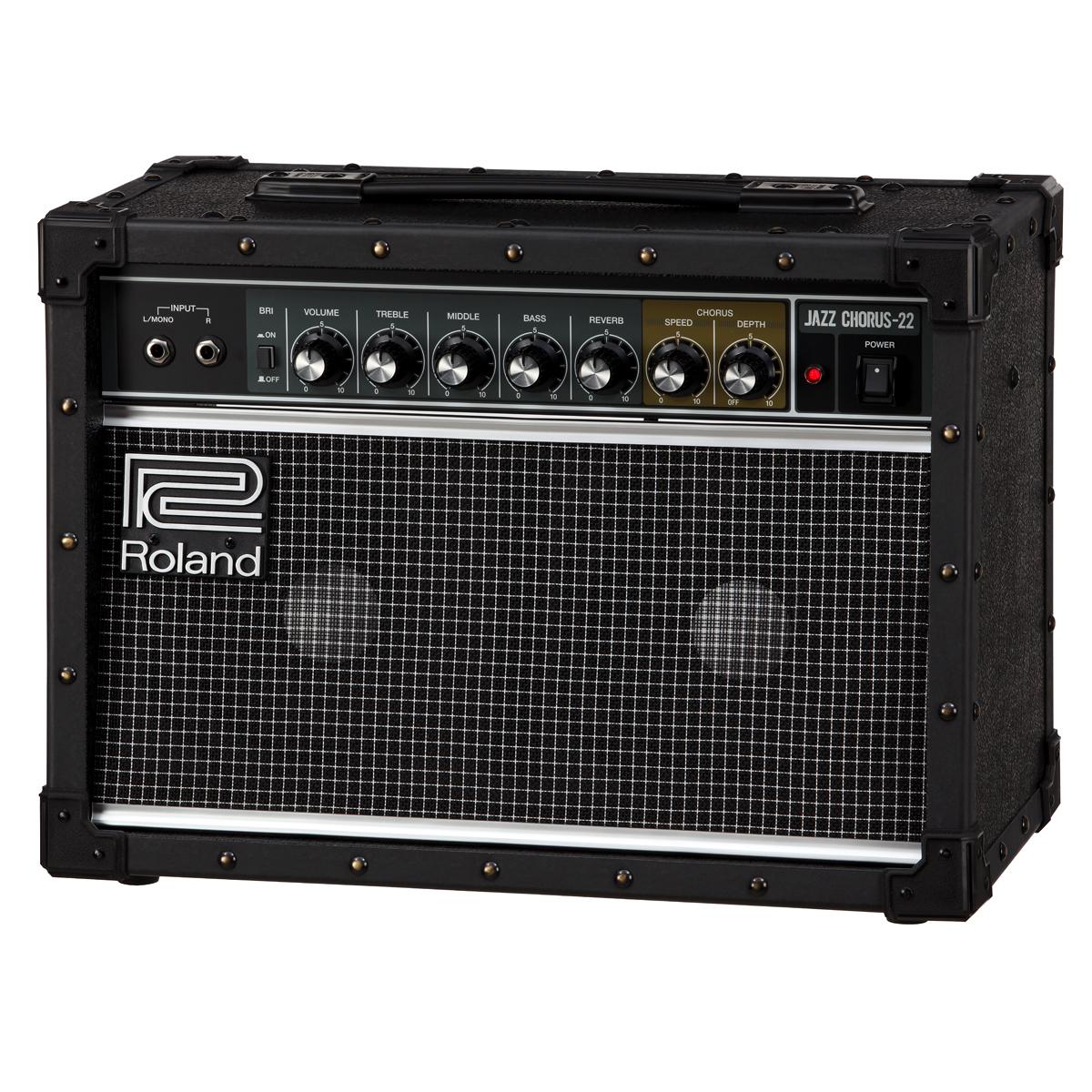 Roland / JC-22 Jazz Chorus Guitar Amplifier ローランド ギターアンプ ジャズコーラス 30W ≪今ならピック10枚プレゼント!≫【メーカー1年保証】【TFJ2】【新宿店】