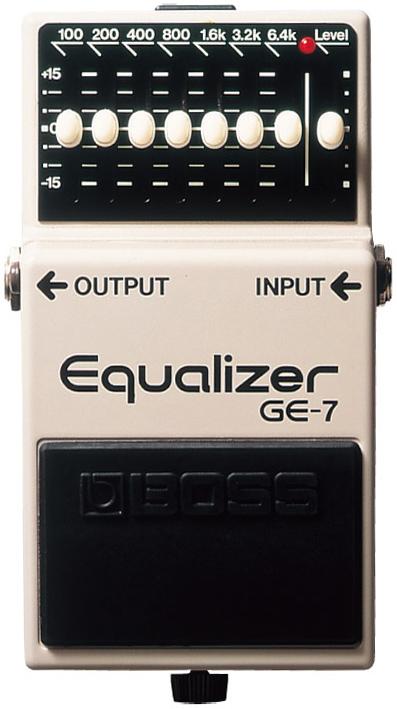 BOSS / GE-7 Equalizer 【エフェクター】【ボス】【イコライザー】【新宿店】