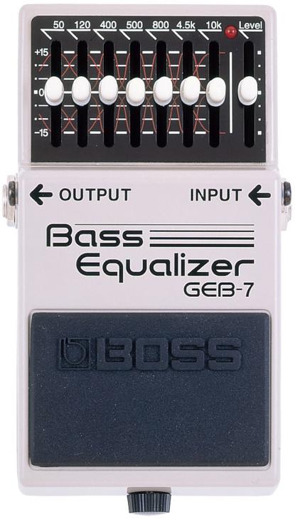 BOSS / GEB-7 Bass Equalizer 【エフェクター】【ボス】【ベースイコライザー】【新宿店】