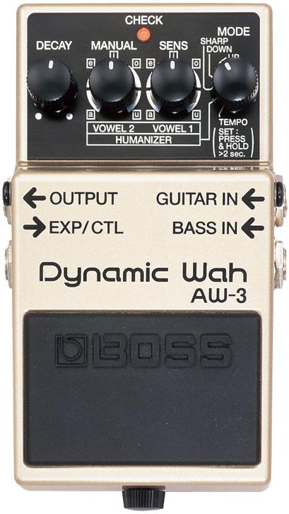 BOSS / AW-3 Dynamic Wah 【エフェクター】【ボス】【ダイナミックワウ】【新宿店】