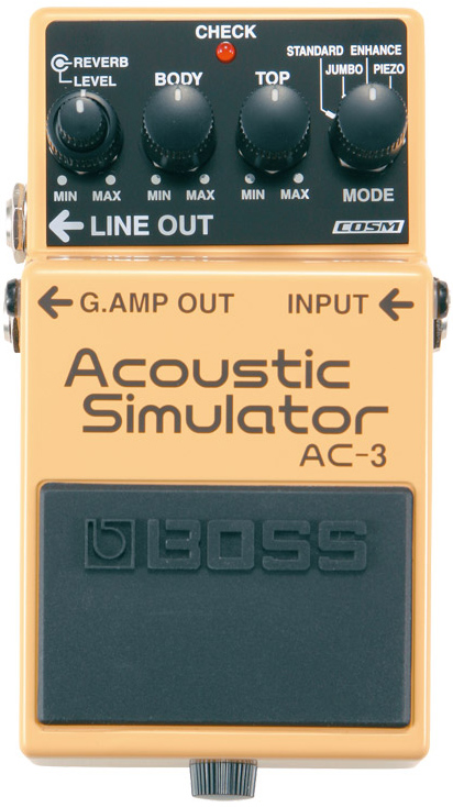 BOSS / AC-3 Acoustic Simulator 【エフェクター】【ボス】【アコースティックシュミレーター】【御茶ノ水本店】