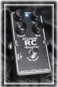 Xotic / Bass RC Booster 【ベース用エフェクター】【エキゾチック】【ベースRCブースター】【新宿店】