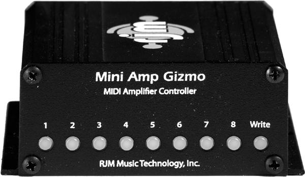 RJM / Mini Amp Gizmo Amp Channel / Function Switcher 【エフェクター】【ミニアンプギズモ】【アンプチャンネル/ファンクションスイッチャー】【新宿店】
