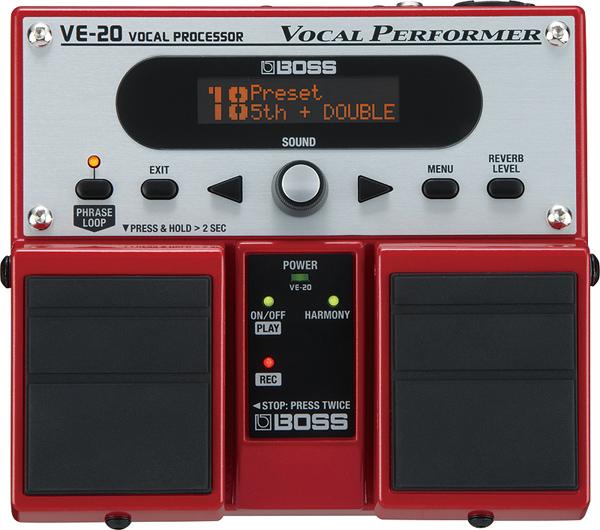 BOSS / VE-20 Vocal Processor 【エフェクター】【ボス】【ボーカルプロセッサー】【横浜店】