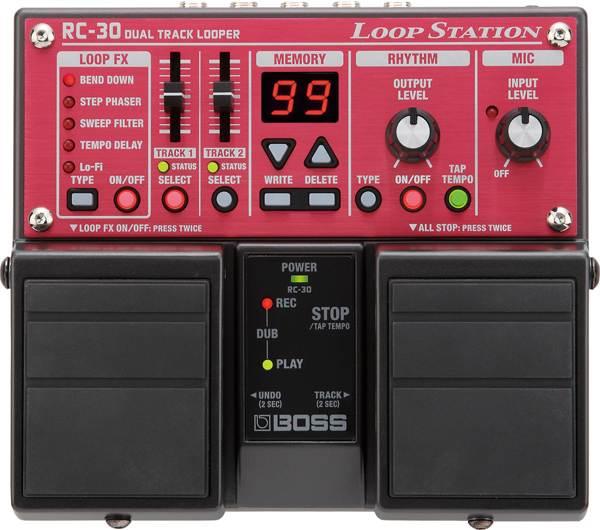 BOSS / RC-30 Loop Station Dual Track Looper 【エフェクター】【ボス】【ループステーション】【デュアルトラックルーパー】【新宿店】