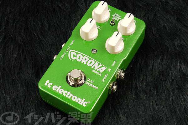 t.c.electronic / TonePrint Corona Chorus 【エフェクター】【TCエレクトロニック】【トーンプリント】【コロナコーラス】【福岡パルコ店】
