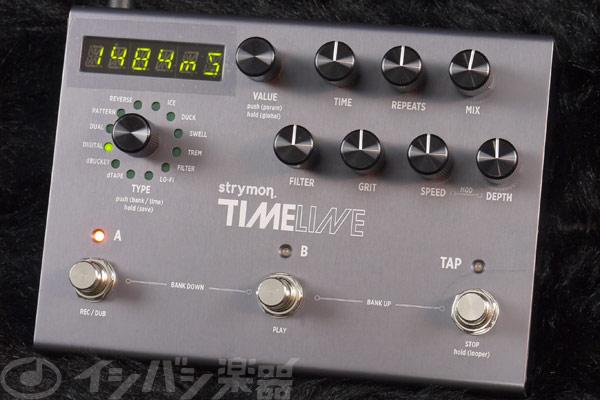 Strymon / Time Line 【エフェクター】【ストライモン】【タイムライン】【新宿店】