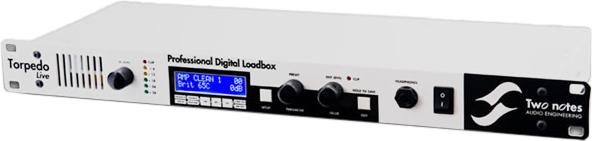 Two notes Audio Engineering / Torpedo Live Professional Digital Loadbox 【トゥーノーツオーディオエンジニアリング】【トーピドライブ】【プロフェッショナルデジタルロードボックス】【新宿店】