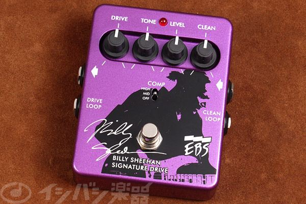 EBS / Billy Sheehan Signature Drive【ビリー・シーン】【MR.BIG】【ベース用】【新宿店】
