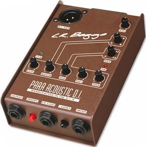 L.R.Baggs / Para Acoustic D.I. Studio Quality Direct Box 【エフェクター】【LRバグス】【パラアコDI/パラアコースティックDI】【ダイレクトボックス】【福岡パルコ店】