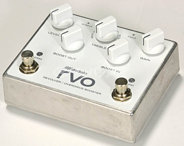 2018新入荷 DEDALO RVO-2OD/BST/【新宿店】 REVOLVER OVERDRIVE BOOSTER/ RVO-2OD/BST REVOLVER【新宿店】, USED SELECT SHOP Loop:18e55cca --- canoncity.azurewebsites.net