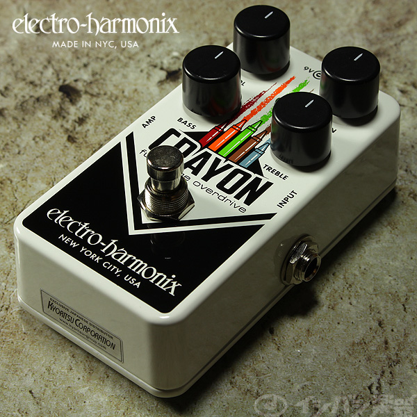 electro-harmonix / Crayon Full-Range Overdrive 【新宿店】