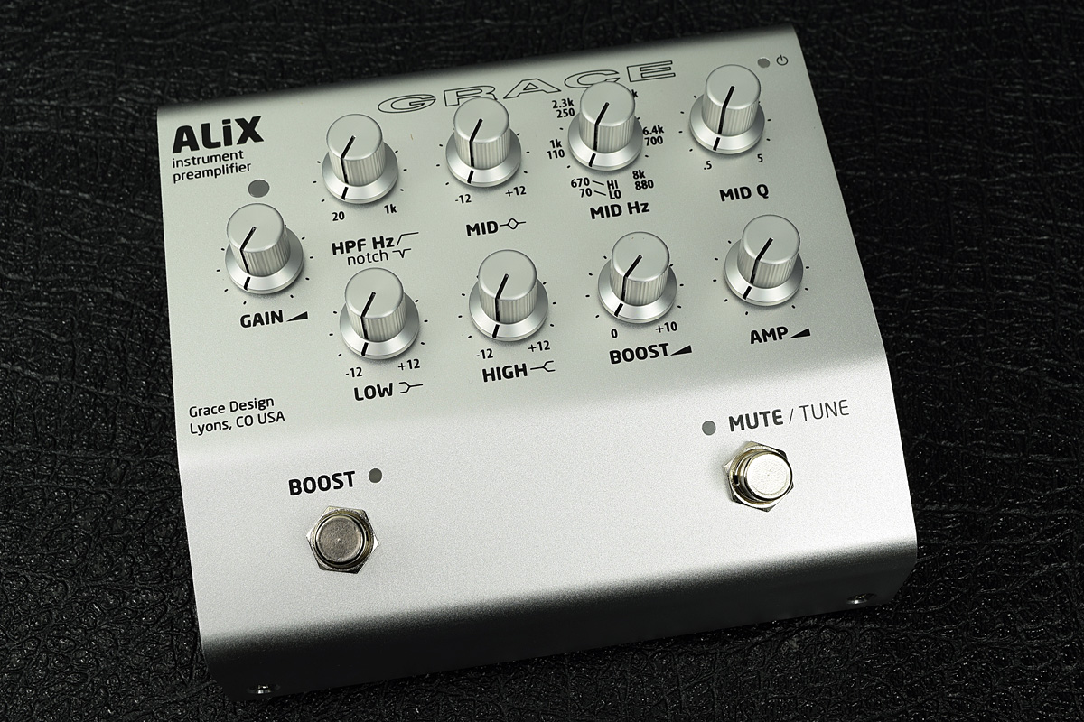Grace design / ALiX Instrument Preamp / EQ/ DI【新宿店】