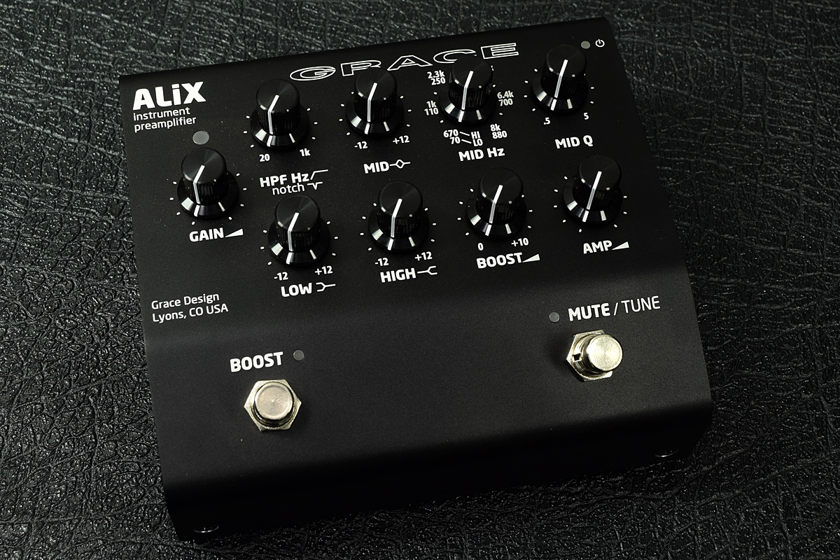 Grace design / ALiX Black Instrument Preamp / EQ/ DI【新宿店】