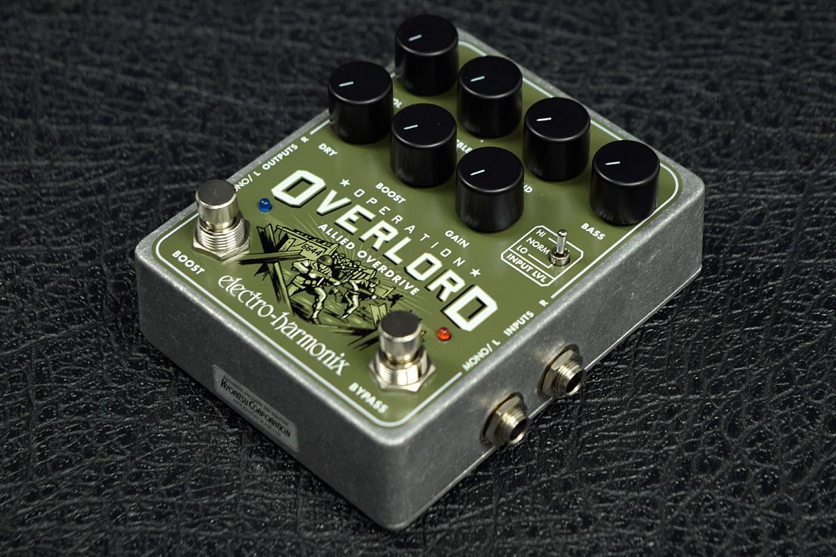 Electro Harmonix / Operation Overlord エレクトロハーモニクス オーバードライブ 《動画》 【新宿店】