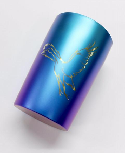 【在庫有り!即納可】 HATA / ブランド2周年記念品 純チタン製 タンブラー ハタ Titan Titanium Tumblr ≪箱崩れアウトレット!≫【新宿店】