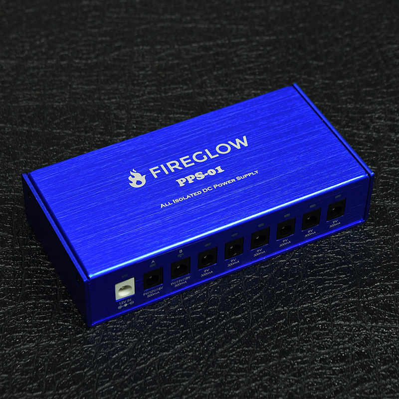 FIREGLOW / PPS-01 All Isolated Pedal Power Supply 【パワーサプライ】【新宿店】
