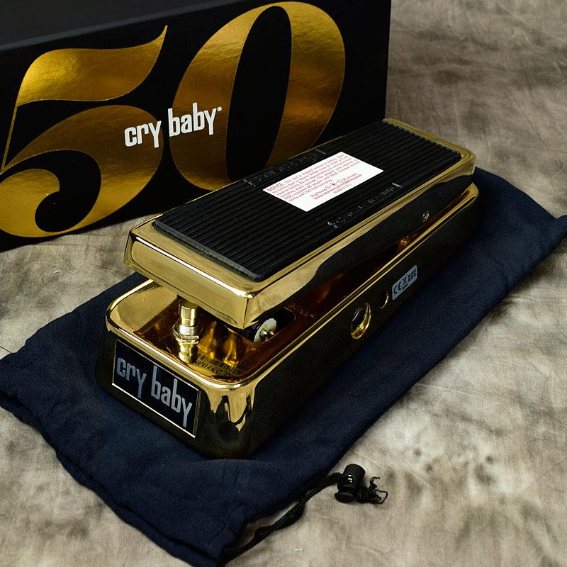 【おまけ付】 Jim Dunlop/ GCB95G 50th/ Anniversary Cry Baby Dunlop Cry Wah【ジムダンロップ】【ワウ】【新宿店】, 中蒲原郡:2abd5433 --- enduro.pl