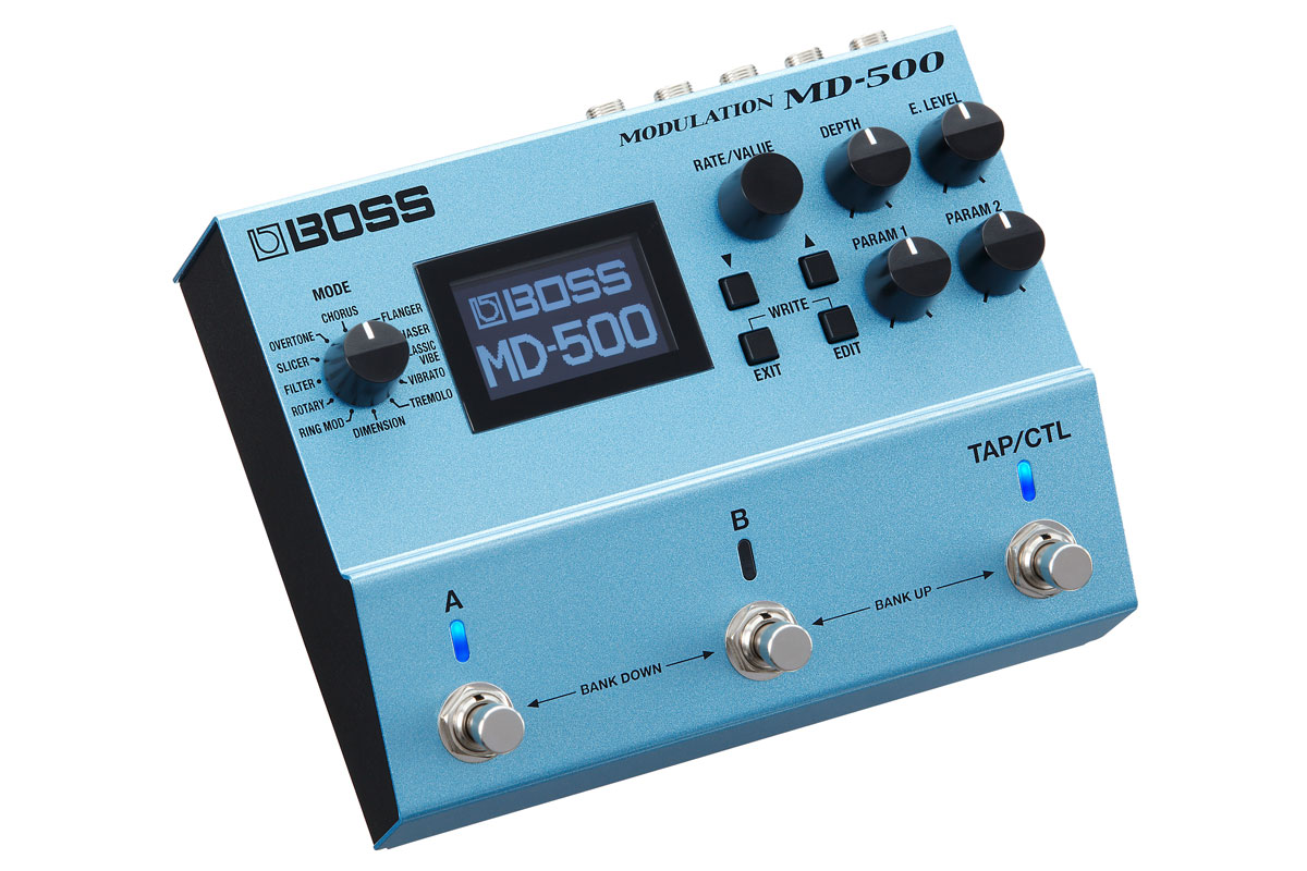 BOSS / MD-500 MODULATION ≪今ならピック10枚プレゼント!≫【ボス】【モジュレーション エフェクター】【新宿店】