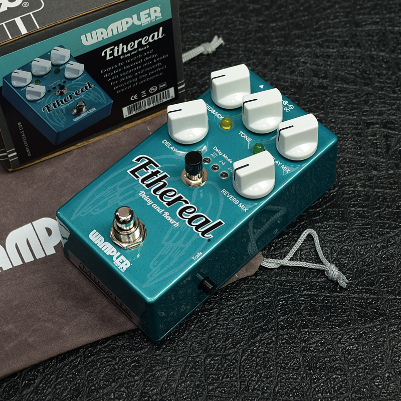 Wampler Pedals / Ethereal - Reverb and Delay 【ワンプラーペダル】【ディレイ】【リバーブ】【新宿店】