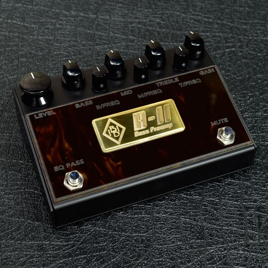 Inner Bamboo Bass Instruments / B-II Bass Preamp【ベース用プリアンプ】【新宿店】