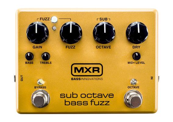 MXR / M287 Sub Octave Bass Fuzz 【ベース用ファズ】【新宿店】