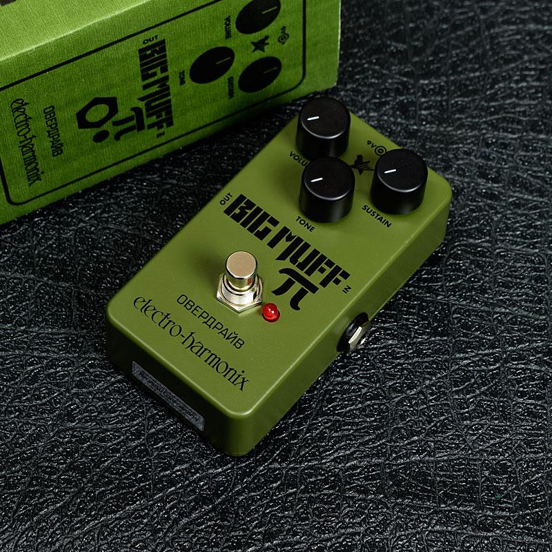 electro-harmonix / Green Russian Big Muff Distortion/Sustainer 【エレクトロハーモニクス】【ビッグマフ】【ディストーション】【新宿店】
