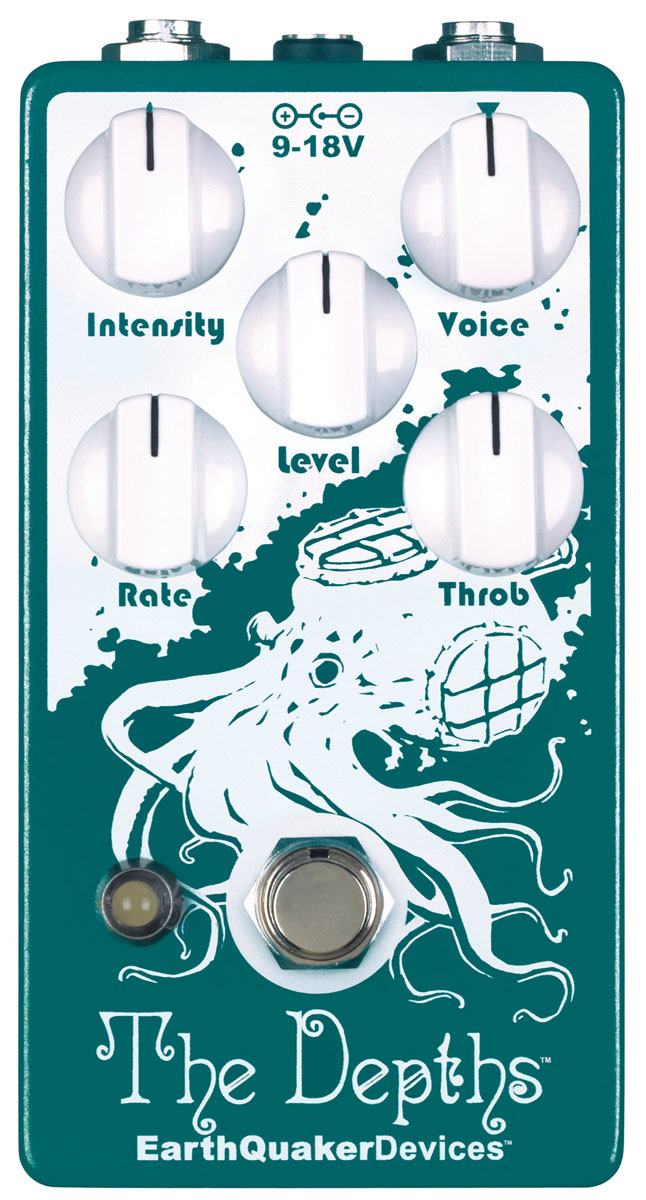 EarthQuaker Devices / The Depths オプティカルビブラート 【新宿店】